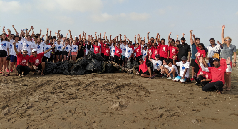 2019 Asian & Oceanian Championship Beach Clean-up